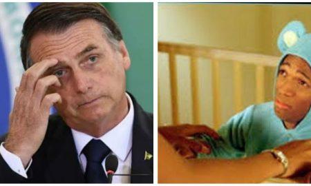 Jair Bolsonaro, cargar, Brasil, enano, menor de edad, video viral, burlas