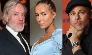 Brad Pitt, Nicole Poturalski, relación abierta, Alemania, EEUU, tendencia, twitter
