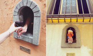 Ventana de vino, ventana, vino, Italia, Toscana, covid-19, coronavirus, peste negra