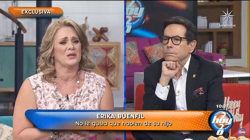 Erika Buenfil, Juan José Origel, Hoy, enfrentamiento, disculpa, encara
