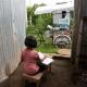 Guatemala, clases, triciclo, distanciamiento social, educación, precarización, acceso a la educación