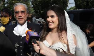 Hija, Alejandro Fernández, pandemia, boda, covid-19, Camila Fernández