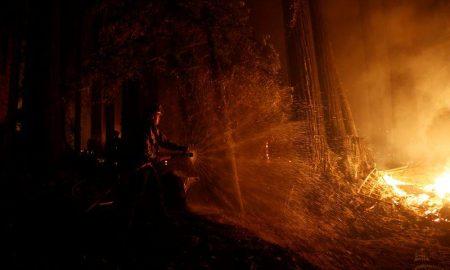 California, incendios forestales, incendios, estado de alerta, EEUU, desplazamiento, calor