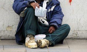 Persona, situación de calle, indigente, calle, sin hogar, Oxford