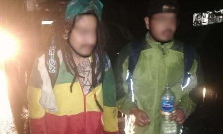 Jóvenes, personas, rescate, cerro Pico del Águila, Ajusco, Tlalpan, Ciudad de México