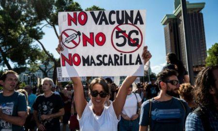 Madrid, cubrebocas, pandemia, manifestación, covid-19