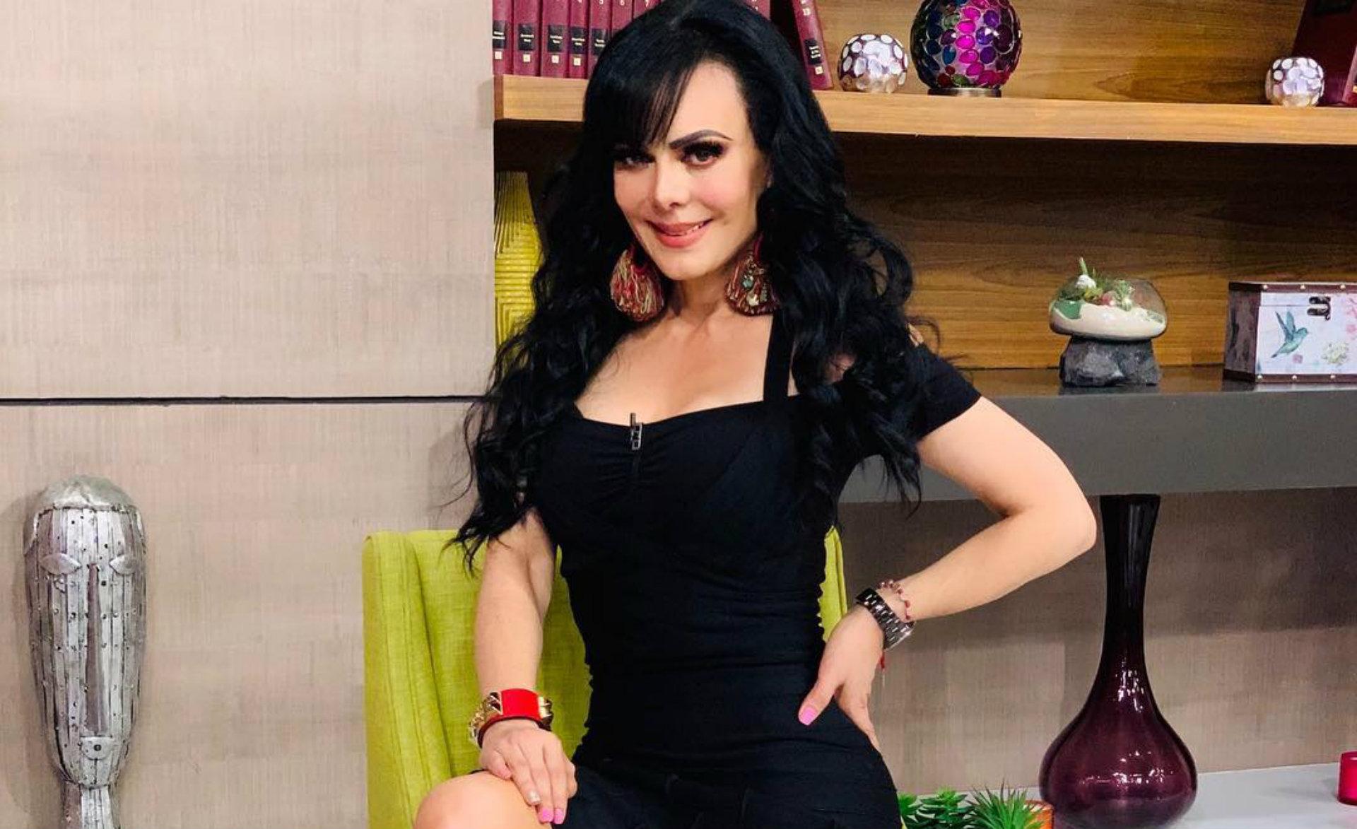Maribel Guardia, choque, Televisa, accidente, programa, televisión