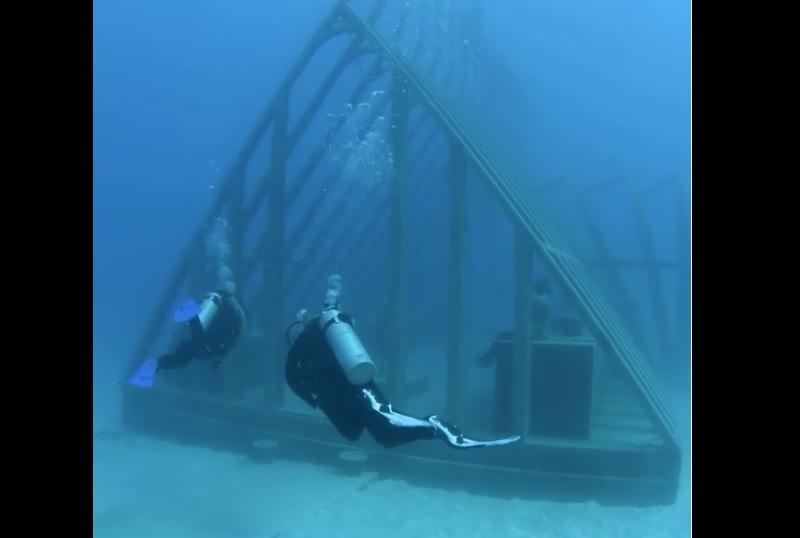 Museo, Mar, agua, sumergido, Museo de Arte Subacuático de Australia, Australia