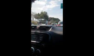 Robo, carro, vehículo, garita, San Ysidro, video, viral, video viral