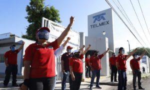Telmex, paro laboral, injusticia, jubilación, Carlos Slim, derechos humanos