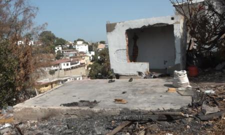 Colonia Altamira, basurero clandestino, picadero,