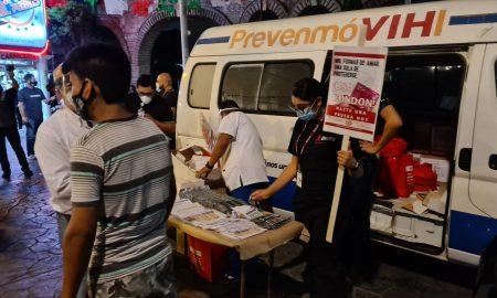 pruebas, VIH, Zona Norte, Plaza Santa Cecilia,