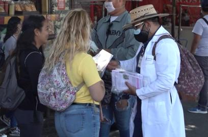 cubre bocas, Turistas, Labor Day,