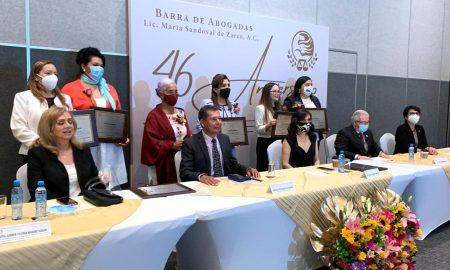 aniversario, Barra de Abogadas, Lic. María Sandoval de Zarco,