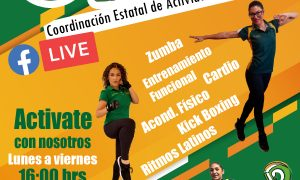 UABC, programa virtual, cimarrón en movimiento, Activacion Fisica,