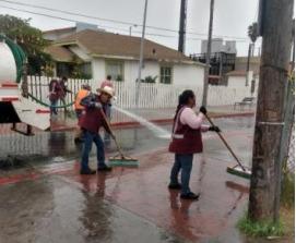 tareas, limpieza, Rosarito