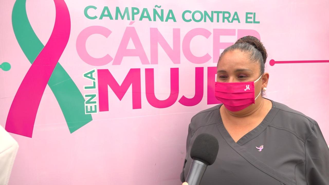 campaña, modulo, mujeres, cancer