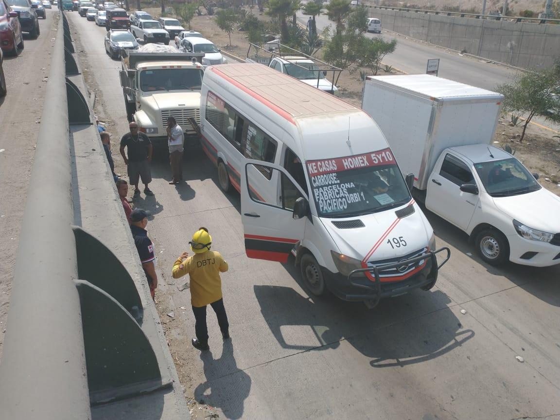 choque, transportes, Rosas Magallón, taxista, accidente