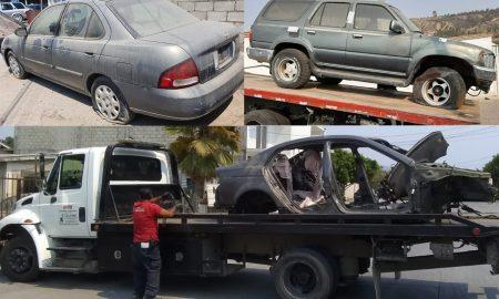 SSPCM, vehículo abandonado, remoción,