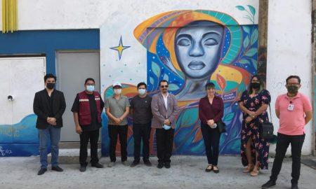centro, mural, tijuana