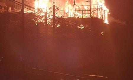 fuego, siniestro, casas