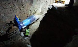 reparación, red hidráulica, Mesa de Otay, agua potable