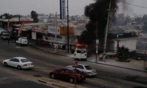Choque, Accidente, Boulevard, locales