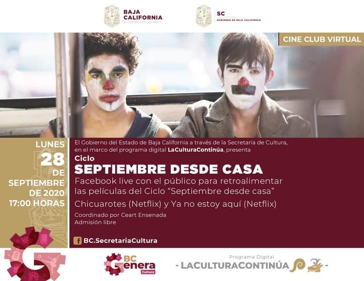 cine club, ceart, chicuarotes
