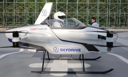 Pruebas, Auto volador, Japón, SkyDrive, SD-03