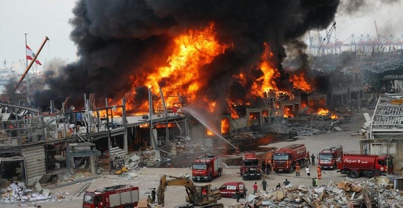 Incendio, Beirut,