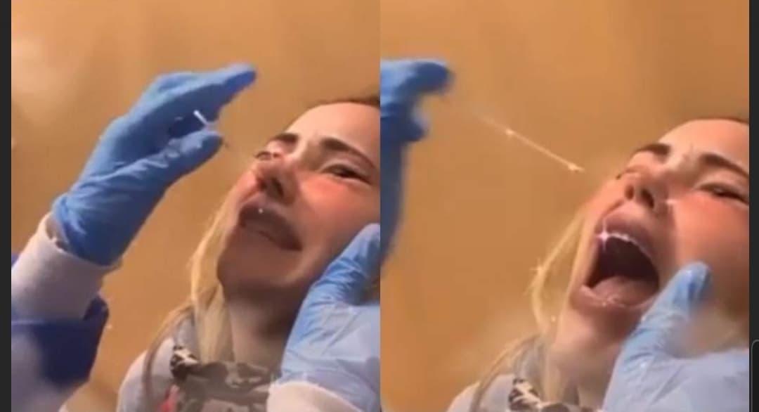 Camila Sodi, covid-19, pandemia, prueba, video viral