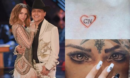 Christian Nodal, Belinda, pareja, romance, tatuajes, memes, redes sociales, tendencia