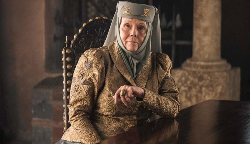 Diana Rigg, Olena Tyrell, fallece, 82 años, Game of Thrones
