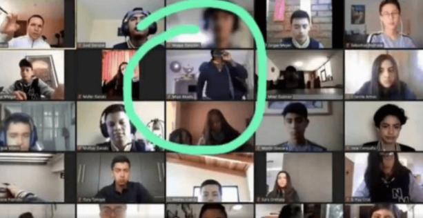clase, zoom, asalto, Ecuador, video viral, violencia
