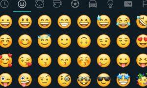 WhatsApp, emojis, actualización, aplicación, comunicación, chat