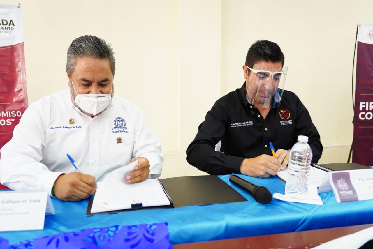 Ayuntamiento, Ensenada, Sindicato de Burócratas, Trabajo