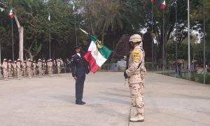 Gesta Heroica de los Niños Héroes, Ejército Mexicano,