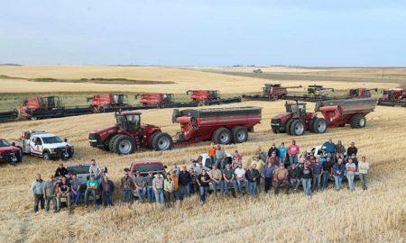 North Dakota, Estados Unidos, granja, Lane Unhjem, ayuda, comunidad, amigos