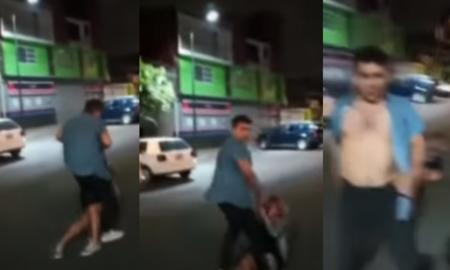 Coyoacán, violencia, video viral, lo viral, golpes, violencia contra la mujer
