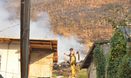 Incendios, Temporada de Calor, Bomberos de Tijuana, Delegación Cerro Colarado,