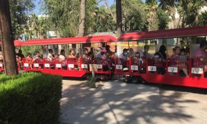aforo, Parque Morelos, Parque de la Amistad, semáforo naranja