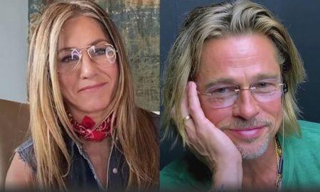 Jennifer Aniston, Brad Pitt, reunión, virtual