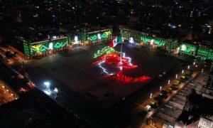 Zócalo, CDMX, Independencia, AMLO, Grito de Independencia