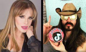 Lucía Mendez, Rey Grupero, video, cachetada, beso, viral