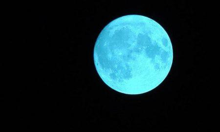 Luna azul, fenómeno, cielo, noche, instrucciones, cómo verlo