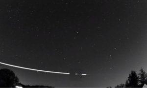 Meteoro, rebota, atmósfera, tierra, video