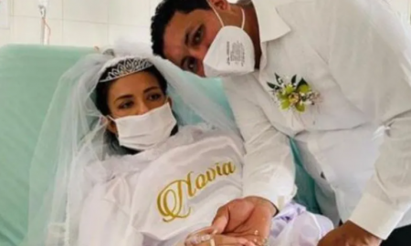 matrimonio, boda, fallecimiento, cáncer, video viral