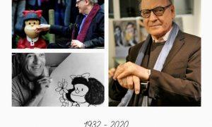 Fallecimiento, Quino, Mafalda, ilustrador, Argentina, Joaquín Salvador Lavado