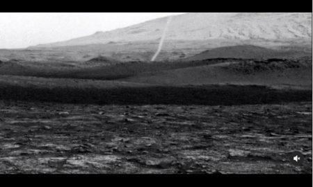 Curiosito, remolino, polvo, Marte, planeta, video, NASA