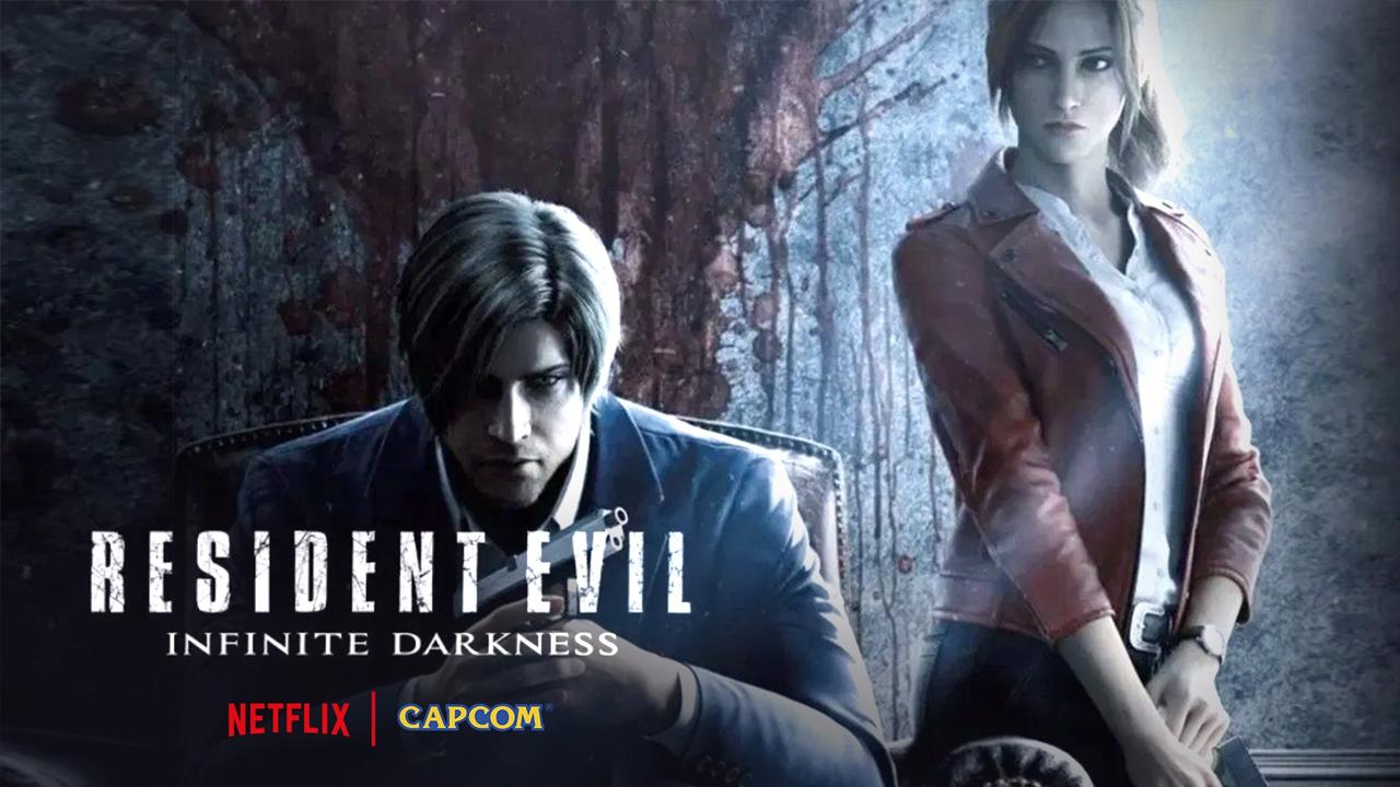 Resident Evil Infinite Darkness, película, trailer, Netflix, zombies